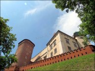 Cracovie - Le château 'Wawel'