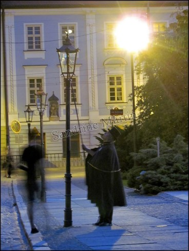 Wroclaw - Au hasard des rues, l'homme qui allumait les lumières au gaz