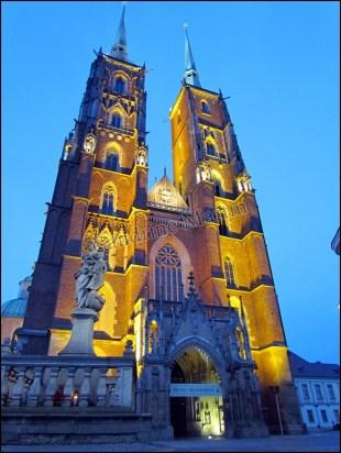 Wroclaw - Cathédrale de St Jean de Baptiste