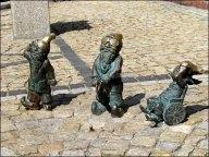 Wroclaw - Nains qui se reproduisent dans la ville