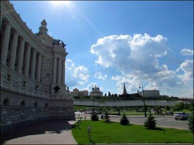 Kazan - Kremlin et palais de l'agriculture