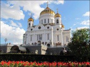 Moscou - Cathédrale du Christ le Sauveur