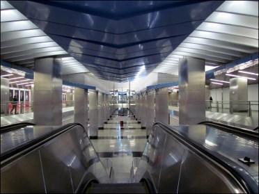 Moscou - Métro - Station Delovoy Tsentr