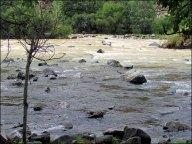 Orkhon Valley, rivière aux deux couleurs