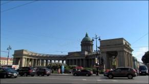 Saint-Pétersbourg - Cathédrale Notre-Dame-de-Kazan