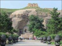 Datong - Grottes de Yungang - Grotte n°20, white buddha