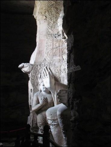 Datong - Grottes de Yungang - Grotte n°3, Ling yan