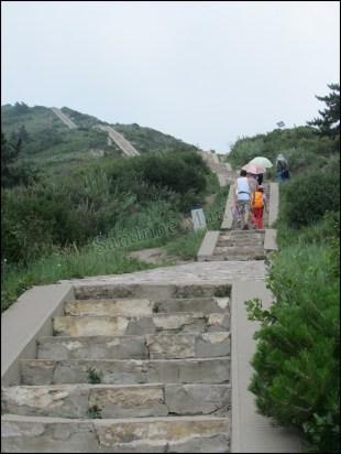 Mont Hengshan, le chemin