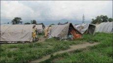Katmandou - Au hasard des rues, bidonville, est-ce lié au tremblement de terre d'avril 2015