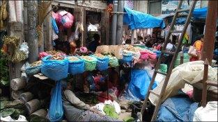 Katmandou - Au hasard des rues, marché