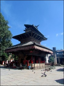 Katmandou - Temple 'Indraini'