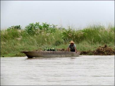 Parc national de Chitwan - Rivière 'Narayani-Rapti', balade en barque