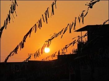 Dehradun - Au hasard des rues, coucher du soleil