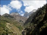 Himalaya - Vallée de Kinnaur - Sur la route entre Kalpa et Chitkul