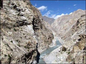 Himalaya - Vallée de Kinnaur - Sur la route entre Nako et Kalpa