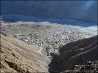 Himalaya - Vallée de Spiti - Vue sur la ville de Kaza