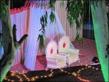 Khajuraho - Mariage, scène