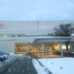 雪のためアルビス小杉総合体育センターで走ってみた。