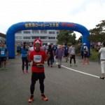 夏のハーフマラソン。ひょっこりのとじま2015 能登島ロードレース