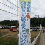 第18回山の村だいこんマラソンのハーフは、すごい坂で歩いてしまった