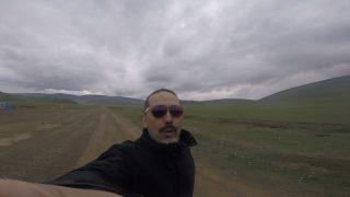 モンゴル側ゲート前にて