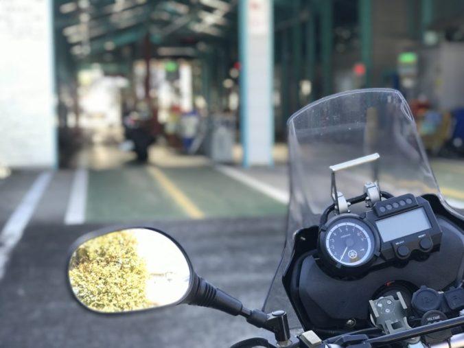 練馬陸運局ユーザー車検大型バイク