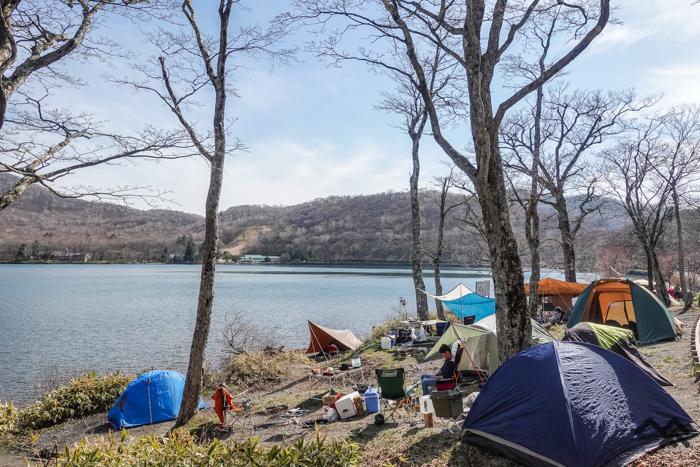 ソロキャンプ向きの県立赤城公園キャンプ場