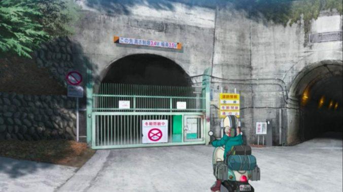 夜叉神峠に繋がる南アルプス街道は通行禁止