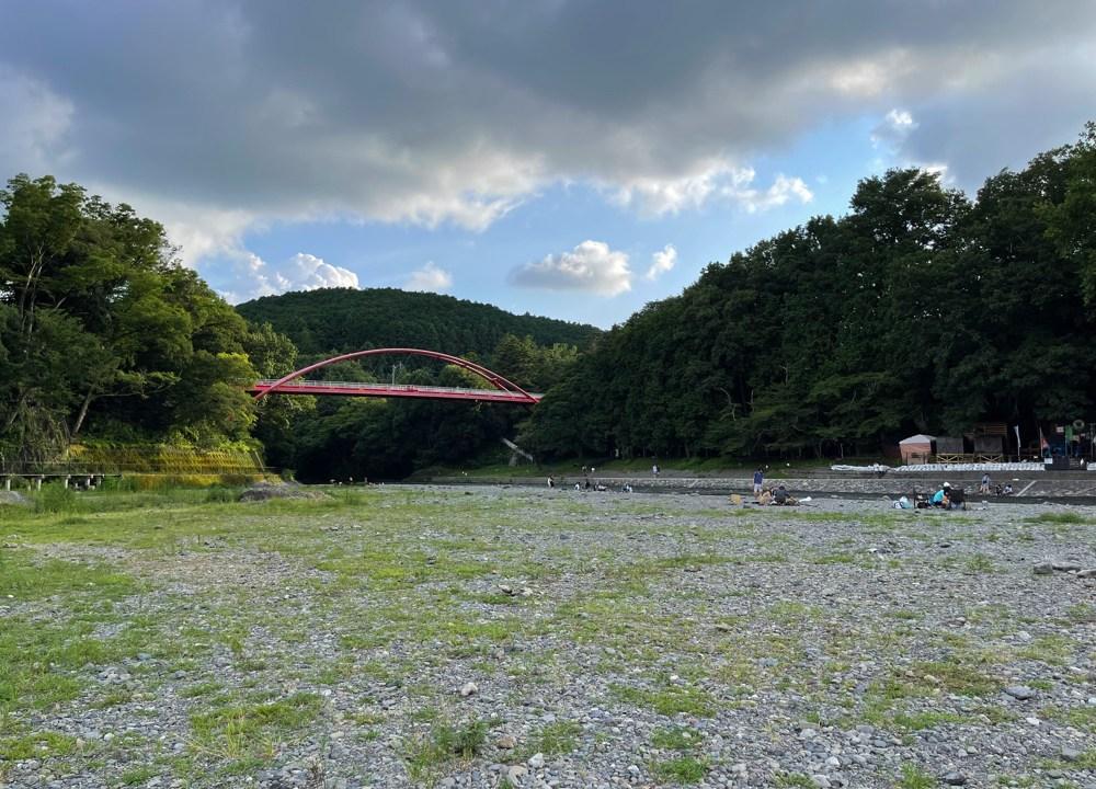飯能河原は無料で楽しめるキャンップ場