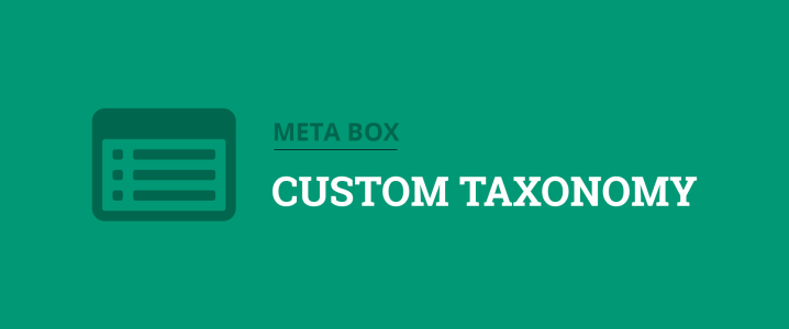 create custom taxonomies in wordpress