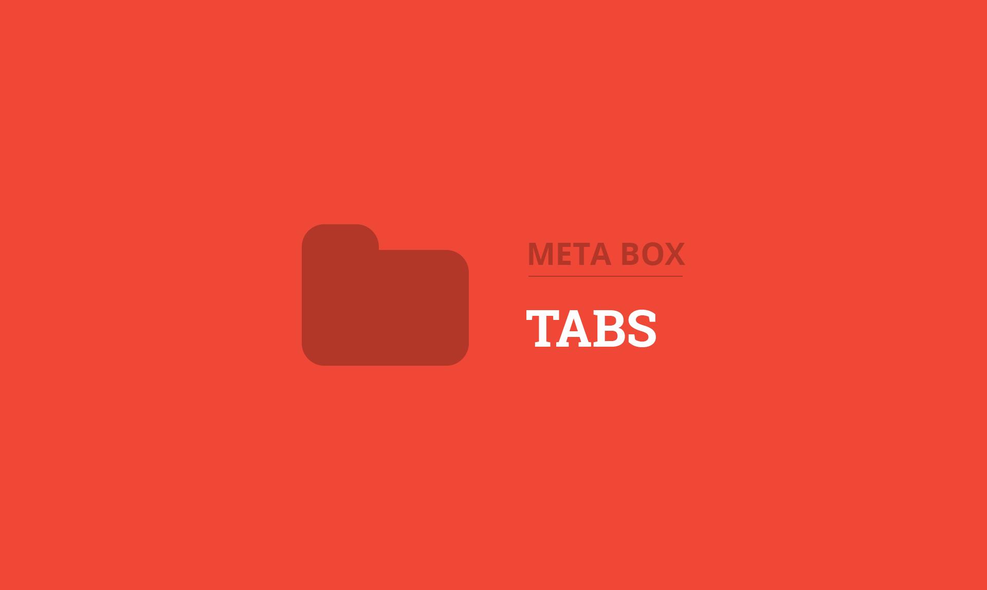 Meta Box Tabs