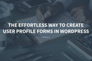 User Profile Form