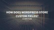 How does WordPress Store Custom Fields