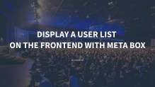 Display a User List On the Frontend with Meta Box