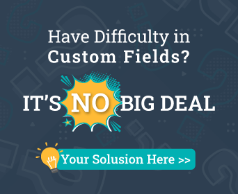 Have Difficulty in Custom Fields