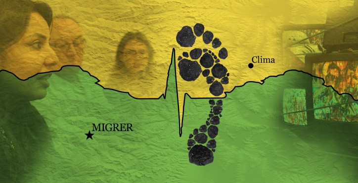 Crossing Footprints - Linking Climate Change with Migration