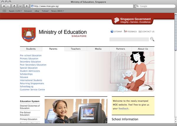 MOE website expanded
