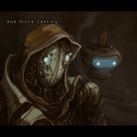 Some rare cutscenes allow you to get a closer look at the main characters.