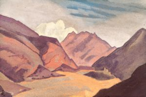 Картина Николая Рериха «Балтистан. Граница с Ладакхом», 1936 г.