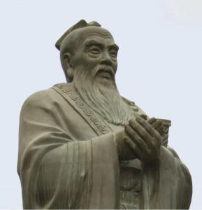 Памятник Конфуцию в Китае