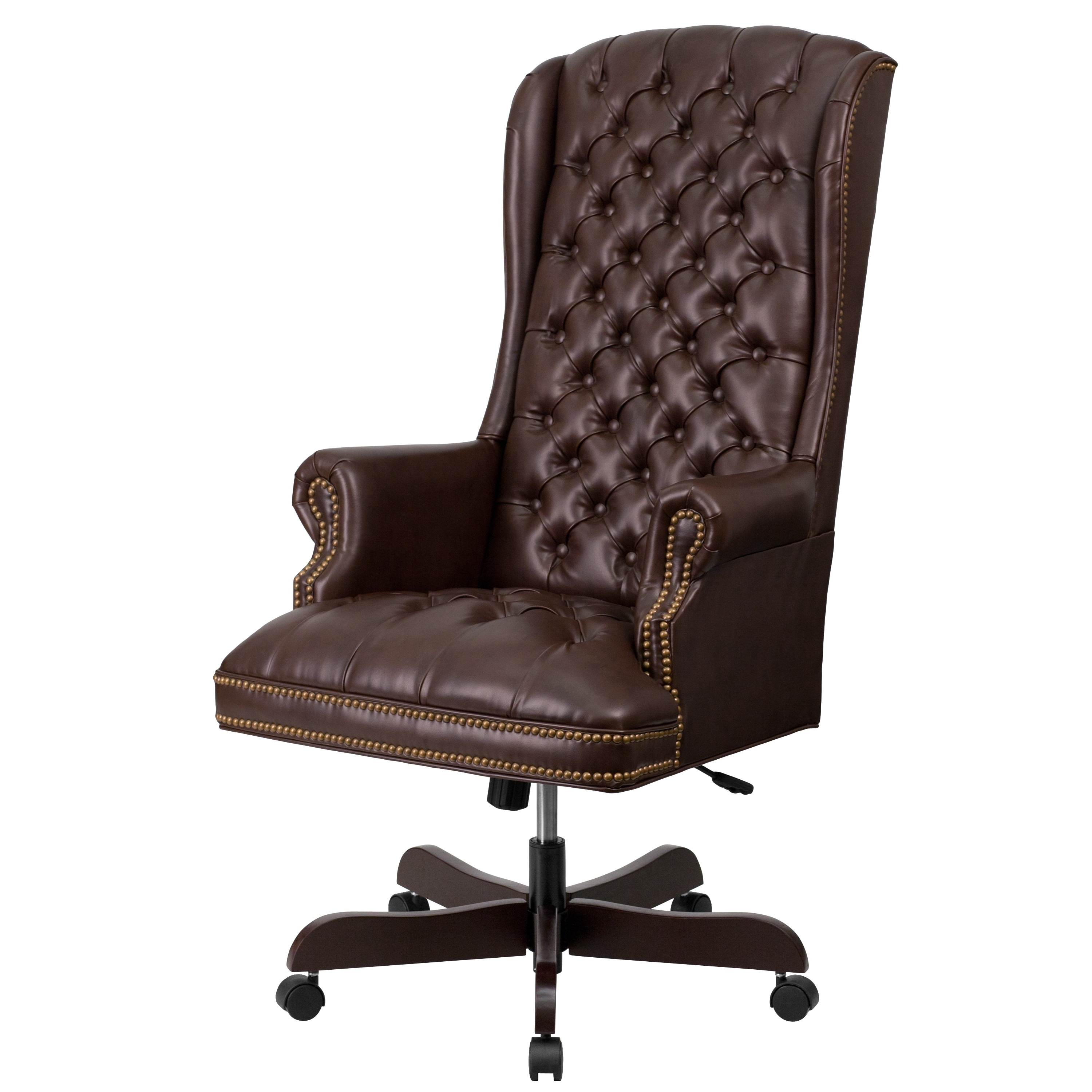 Tufted Leather Office Chair The Best Leather Executive Office Chairs