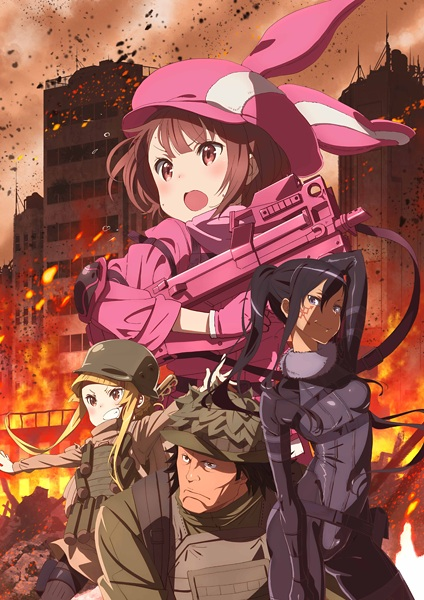sword-art-online-alternative-gun-gale-online-poster-guia de animes da temporada abril primavera 2018