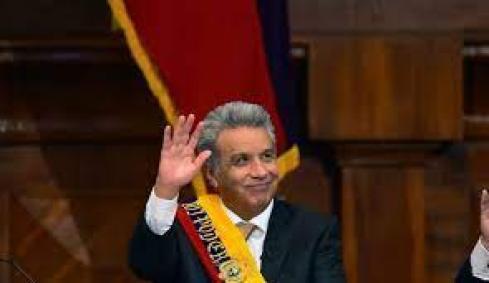 Equateur: Lenin Moreno, nouveau président prêt à l'austérité à gauche -  L'Express