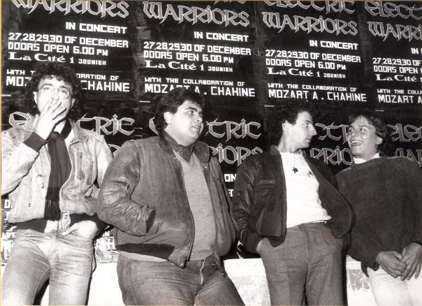 Electric Warriors 1984 3