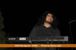 Raffi Nordiguian (Keyboardist) from APRIL