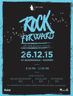 Rock Forward- The Look Forward Concert Poster