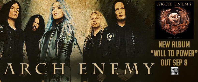 "Arch Enemy | New Album ""Will To Power"""