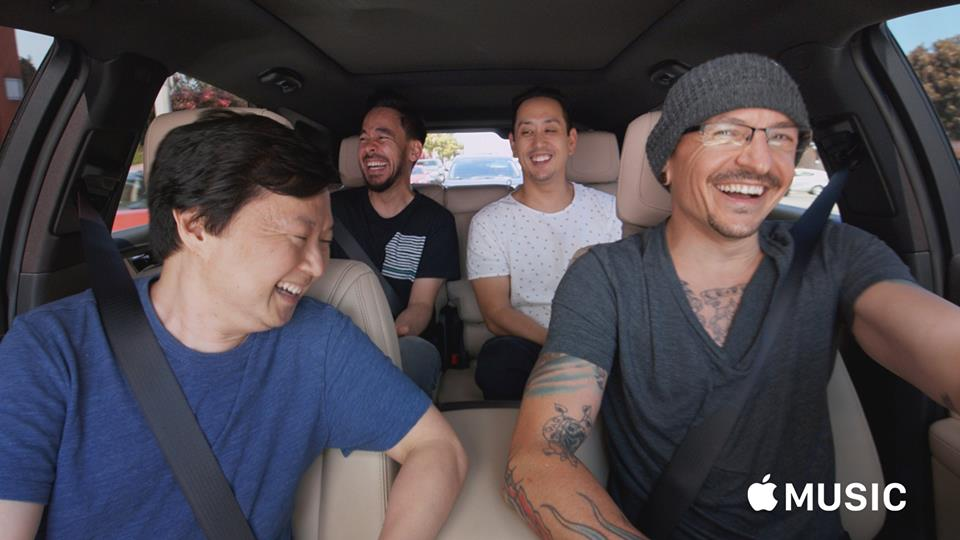 Linkin Park Carpool Karaoke Episode Featuring Chester Bennington