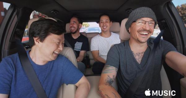 Linkin Park Carpool Karaoke Episode Featuring Chester Bennington