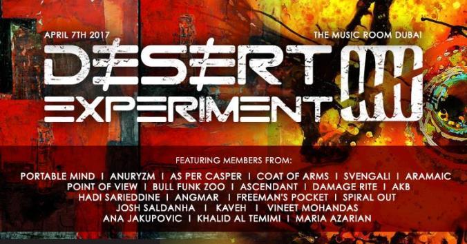 Desert Experiment 5